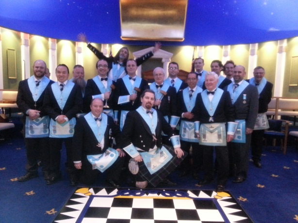 The WM and his Officers for the year 2012-2013